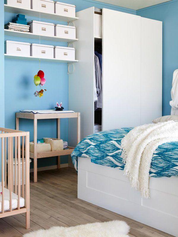 17 mejores ideas sobre murales para la cuna del beb en - Organizar habitacion infantil ...