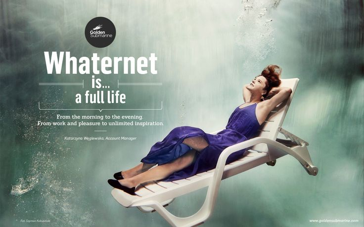 #whaternet is... whole #life. From the morning to the evening. From work and pleasure to the unlimited inspiration.