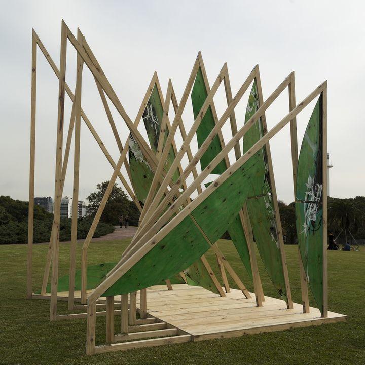 (DES) EQUILIBRIO María Beatriz Blanco + Juan José Vicario + Luis Villanueva + Vicky Graglia + Kiki Lawrie   #diseño #madera #festival #wood #design #art #arte #fashion #moda