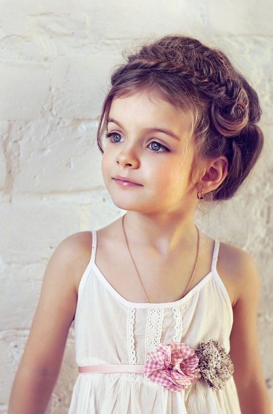 Love the hair style - pretty stylish for a kiddo