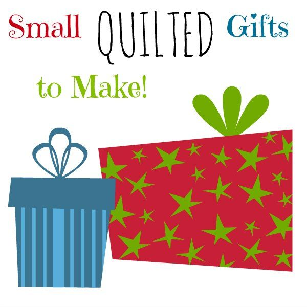 Needing some handmade gifts to bestow upon family and friends? Check out this fun roundup of our favorite small quilted gifts to make. On Craftsy!