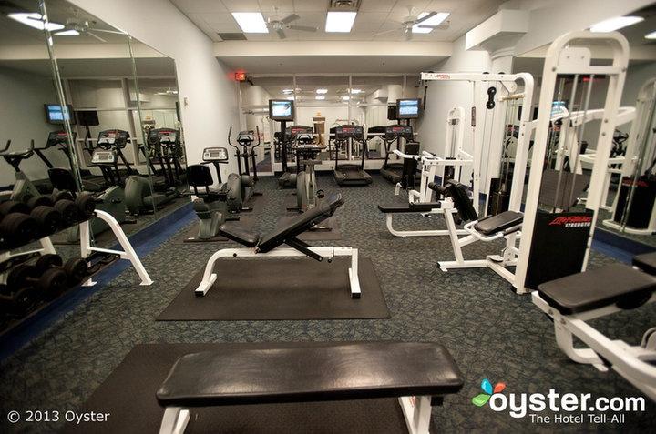 Fitness Center At The Rosen Plaza Hotel Orlando Rosen