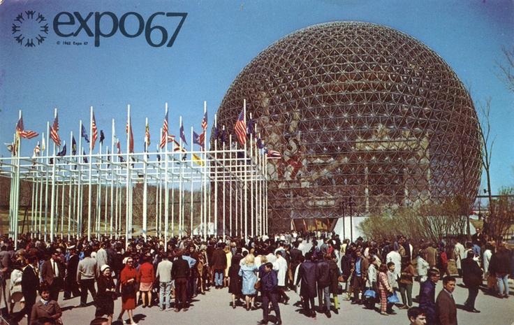United States Pavilion, expo67, montréal, 1967
