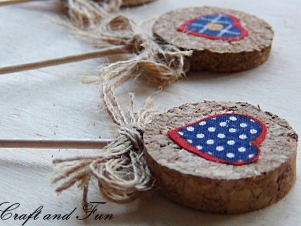 Recycling corks