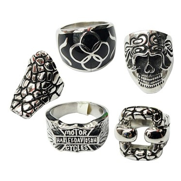 Fashion Stainless Steel Jewelry Rings
