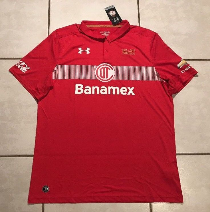 NWT UNDER ARMOUR Deportivo Toluca FC 2016/2017 Jersey Men's 3XL  | eBay