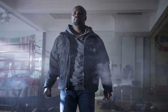 A bullet-proof 'Luke Cage' defends Harlem in Netflix's new trailer     - CNET  Enlarge Image  Marvels Luke Cage arrives on Netflix September 30th.                                              Myles Aronowitz/Netflix  Fans holding out for their next fix of the Marvel Universe can enjoy a longer look at 'Luke Cage this week with a new trailer for the Netflix series that shows the titular hero stepping into his role as the super-powered protector of Harlem.  Premiering September 30th the…