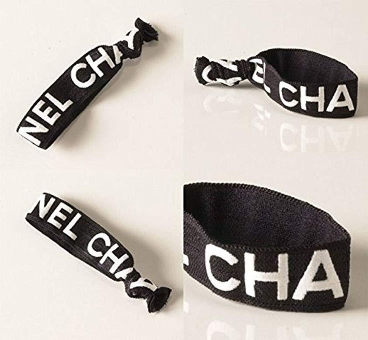 Amazon Co Jp Chanel シャネル ヘアゴム ブラック ホワイト Chanel