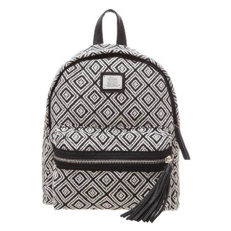 Rucksack - offwhite/black by s.Oliver