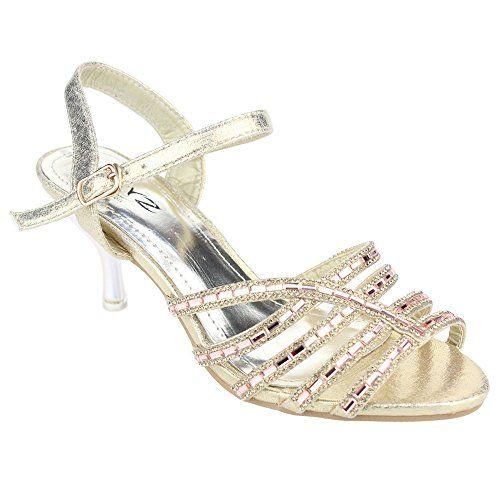 Aarz Frauen-Dame- Abend-Party- Hochzeit Braut High Heel Diamante Sandelholz -Schuh-Größe (Gold , Silber, Champagner ) - http://on-line-kaufen.de/aarz-london/40-eu-aarz-frauen-dame-abend-party-hochzeit-braut-4