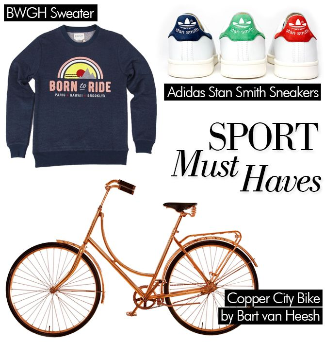 Sport Must Haves - My work out consists of jogging, pushing strollers and cycling...