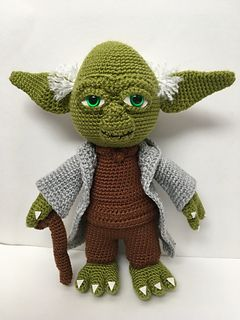 Yoda The Wise One Pattern By Holly S Hobbies Toys