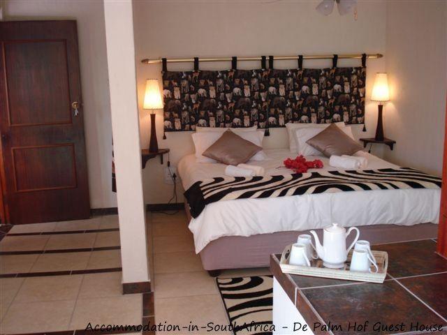 Self-catering en-suite bedrooms at De Palm Hof Guest House. http://www.accommodation-in-southafrica.co.za/Gauteng/Pretoria(Tshwane)/DePalmhofGuesthouse.aspx