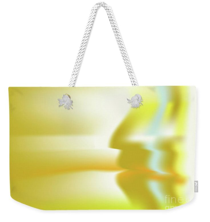 Gold Weekender Tote Bag featuring the digital art Hominium by Ron Labryzz