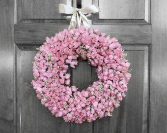 Corone di fiori di estate ghirlanda ghirlanda di di RefinedWreath