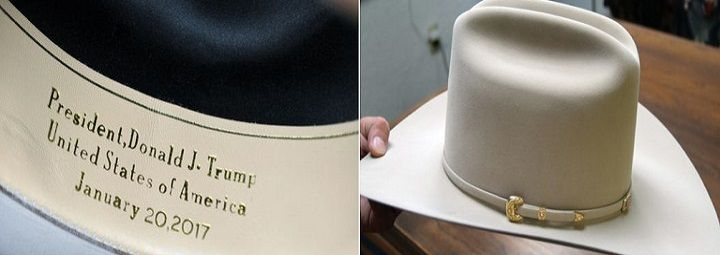 Texas Hat Company Designs Custom Cowboy Hat for Trump, Son Eric and Pence #USA - http://conservativeread.com/texas-hat-company-designs-custom-cowboy-hat-for-trump-son-eric-and-pence-usa/