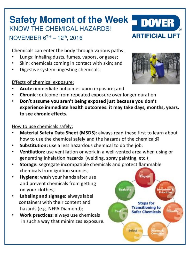 Know the Chemical Hazards and Hydrogen Sulfide!  Alberta Oil Tool's #Safety Moment of the Week 07-Nov-2016