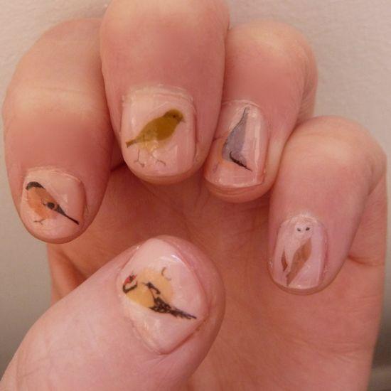 cute nail transfers