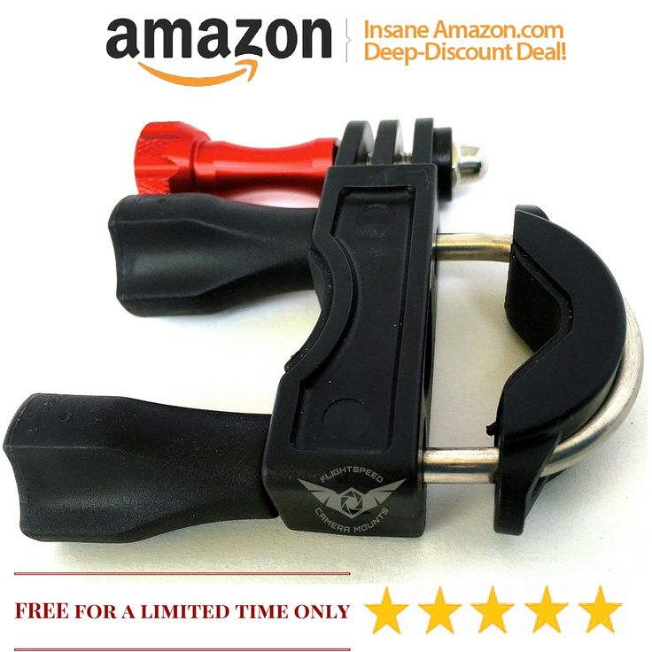 Get a Discount coupon code to get this Heavy Duty Handlebar mount for GoPro cameras during launch week.