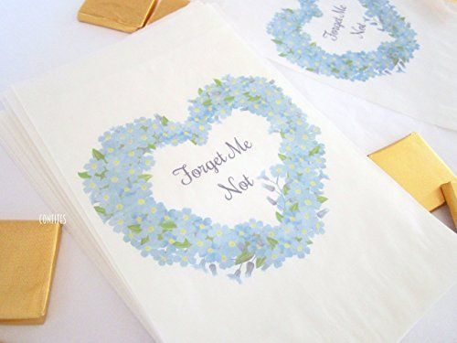 Personalised Party Bags Forget Me Not flower heart, sweet... https://www.amazon.co.uk/dp/B079VTV8YW/ref=cm_sw_r_pi_dp_x_7q0HAbEV7HVH0