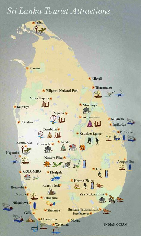 Sri Lanka Tourist Attractions