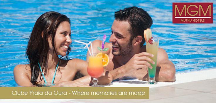 Etch your heart with beautiful memories at Club Praia da Oura | Grave no seu coração belas recordações do Clube Praia da Oura | Graba en tu corazón los bellos recuerdos de Clube Praia da Oura