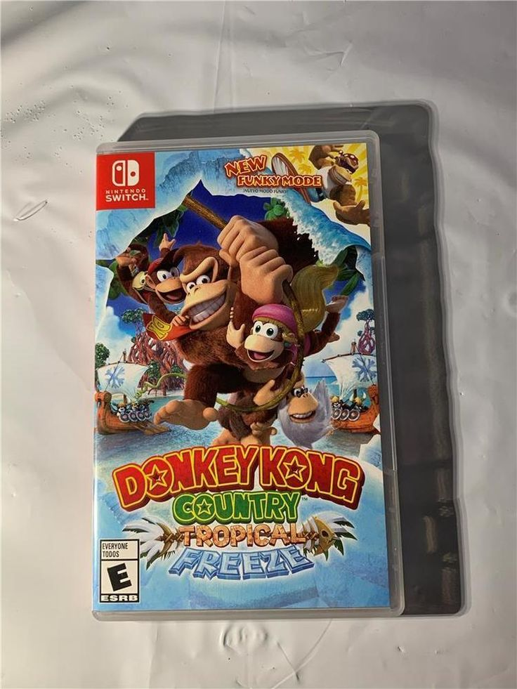 donkey kong country tropical freeze nintendo switch 2018 rh pinterest com