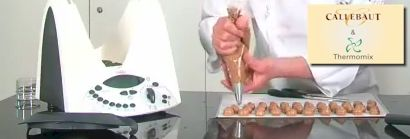 Six Thermomix Videos from Callebaut Chocolate Master