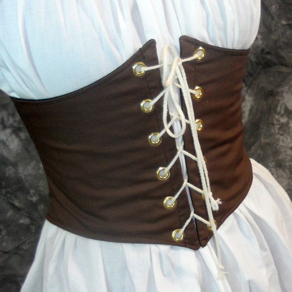 Renaissance Waist Cincher Pirate Waist Belt by MidnightsMeadow