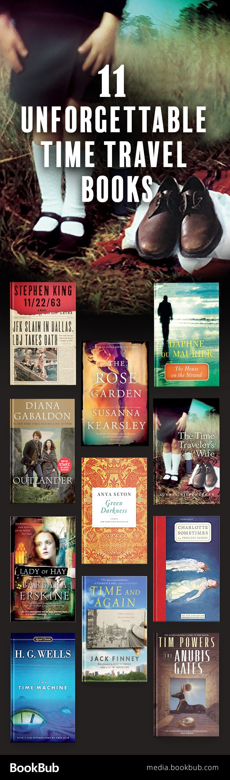 11 great time travel books for fans of Outlander, The Time Traveler's Wife, and more. These books are worth a read, and include some modern classics!