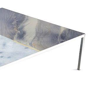 """Design com rochas ornamentais: """"Pinturas da Natureza"""" em forma de exclusivos tampos de mesa de quartzito"""