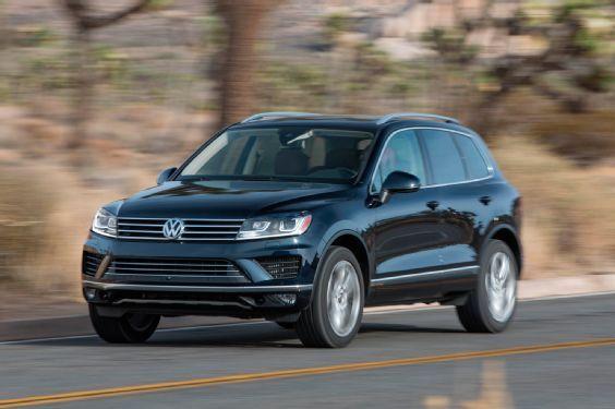 2015 Volkswagen Touareg TDI promo