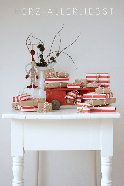 Scandinavian Christmas packages