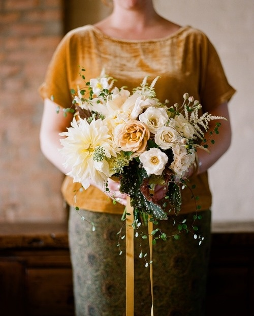 Soft yellow bouquet
