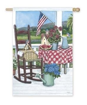 IAmEricas Flags   Summer Porch House Flag, $24.00 (http://www.