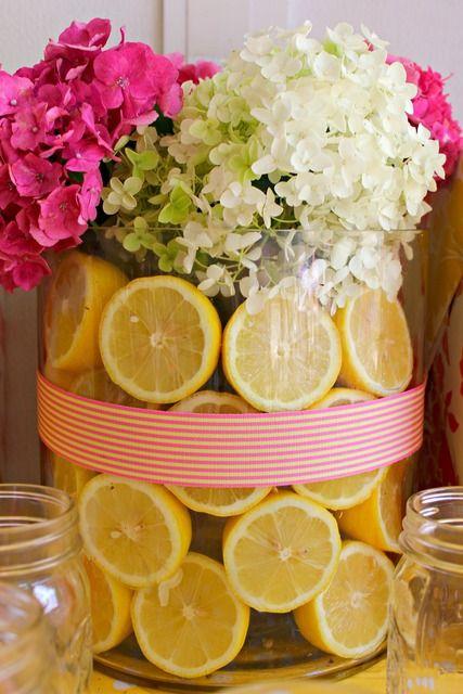 Pink Lemonade First Birthday | CatchMyParty.com