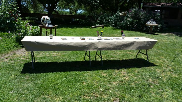 Kids Table Setup by: Love is Love Events