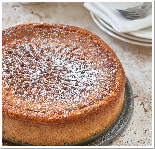 Italian cheese cake from Sticky Gooey Creamy Chewy