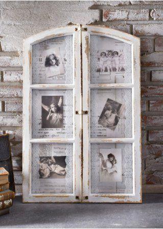 antikes Fenster - Bilderrahmen