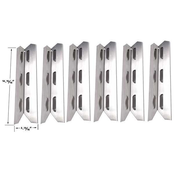 6 PACK STAINLESS STEEL HEAT SHIELD FOR HAMILTON BEACH 84131C, 84241C, PERMASTEEL PG-40402SOL, PG-40404SOLA GRILL MODELS Fits Compatible Hamilton Beach Models : 84131, 84131C, 84241, 84241C Read More @http://www.grillpartszone.com/shopexd.asp?id=35779&sid=37538