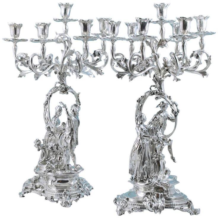 215 besten kerzenleuchter bilder auf pinterest - Kerzenhalter fa r weihnachtsbaum ...