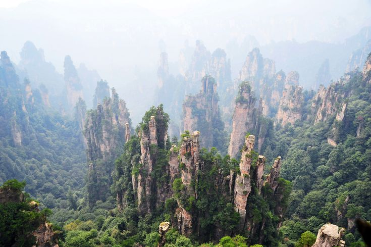Tianzi Mountains- China