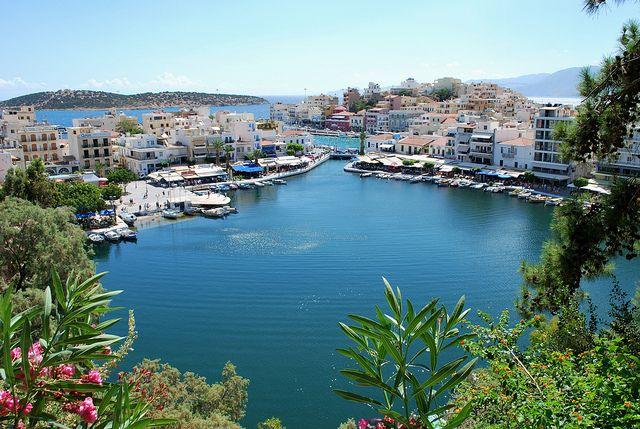 Agios Nikolaos - Lake Voulismeni