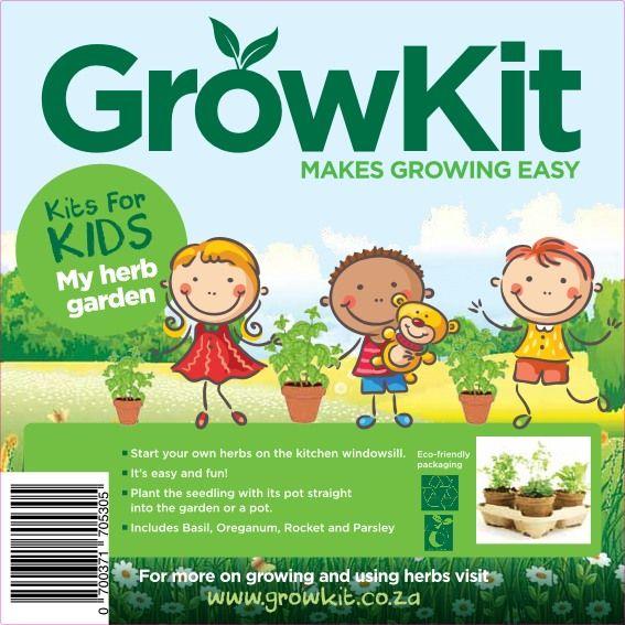 GrowKit My Herb Garden for kids