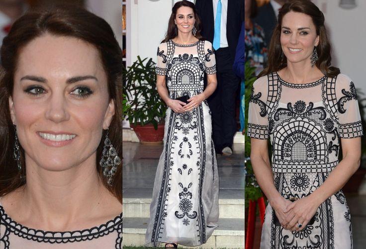 Księżna Kate w Indiach