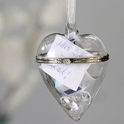 """Geschenkverpackung """"Glasherz"""" - Hübsche Geschenkverpackung zur Hochzeit"""