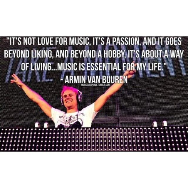 Love Armin!!! This is so true!!! :)