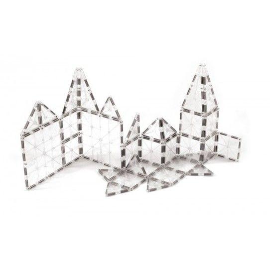 Magna-Tiles byggemagneter, Ice 32 stk.