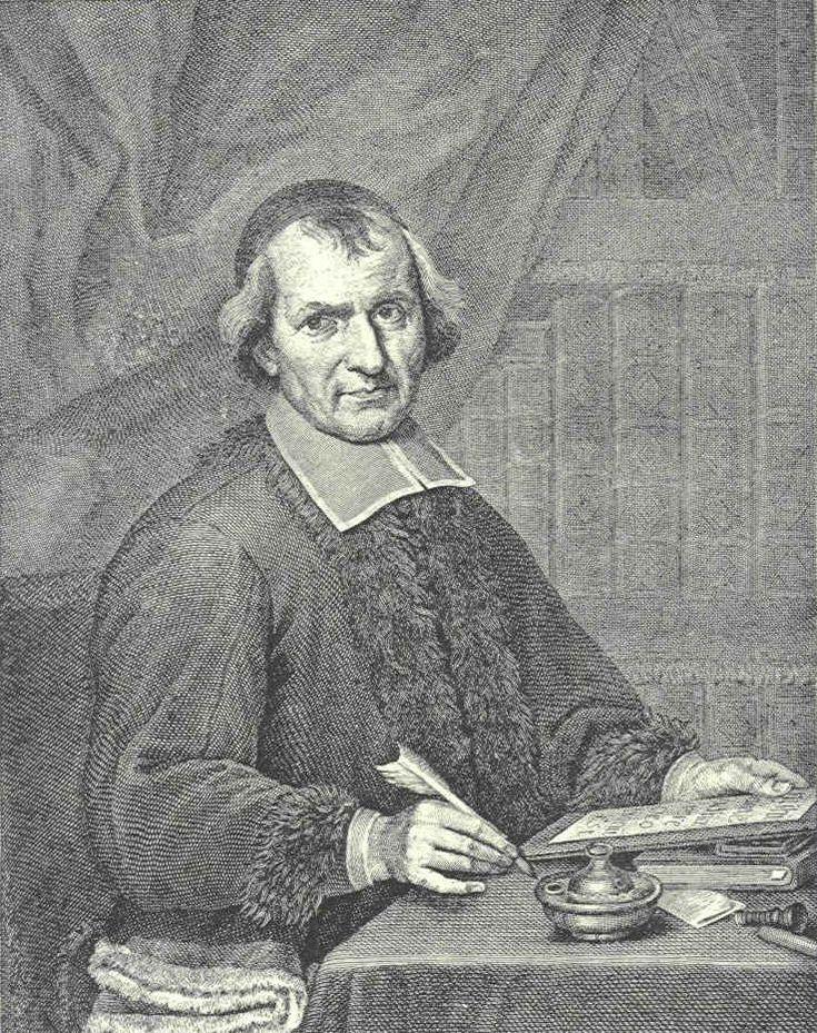 Portrait d'Antoine Arnauld, tête de file du mouvement janséniste dans la seconde moitié du XVIIème siècle