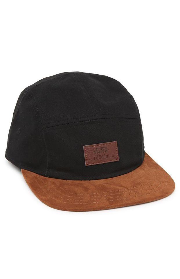 Vans Davis 5 Panel Camper Hat - Mens Backpack - Black/Wheat - One